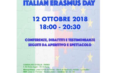 ERASMUS DAY evento Comites 12 ottobre 2018