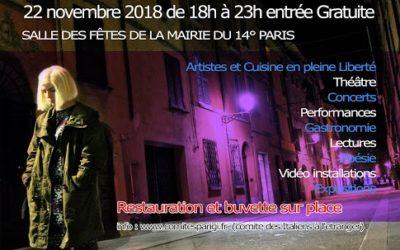 UN GIORNO PER TIZIANA FESTIVAL 22 NOVEMBRE 2018